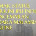 Semak Status Terkini IPU Indek Pencemaran Udara/ Jerebu Malaysia