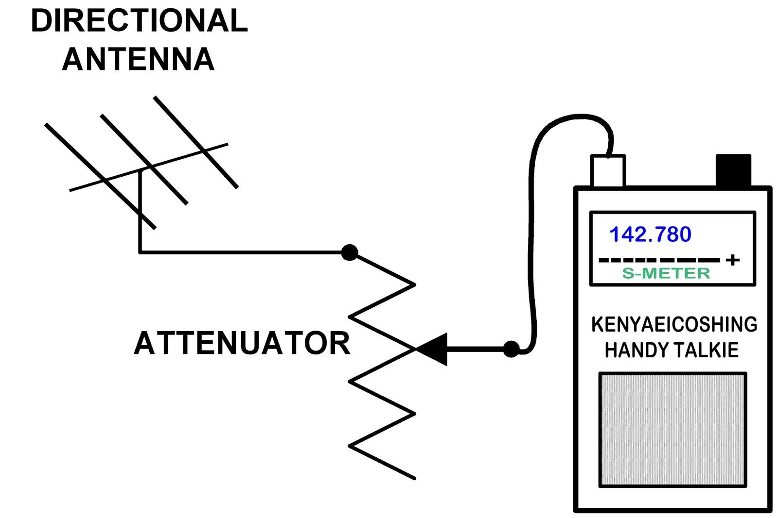 Kr7ws Ham Radio Blog 2 Meter Ardf Attenuator Project Homemade Antenna Wiring Diagram Simplified Schematic Of