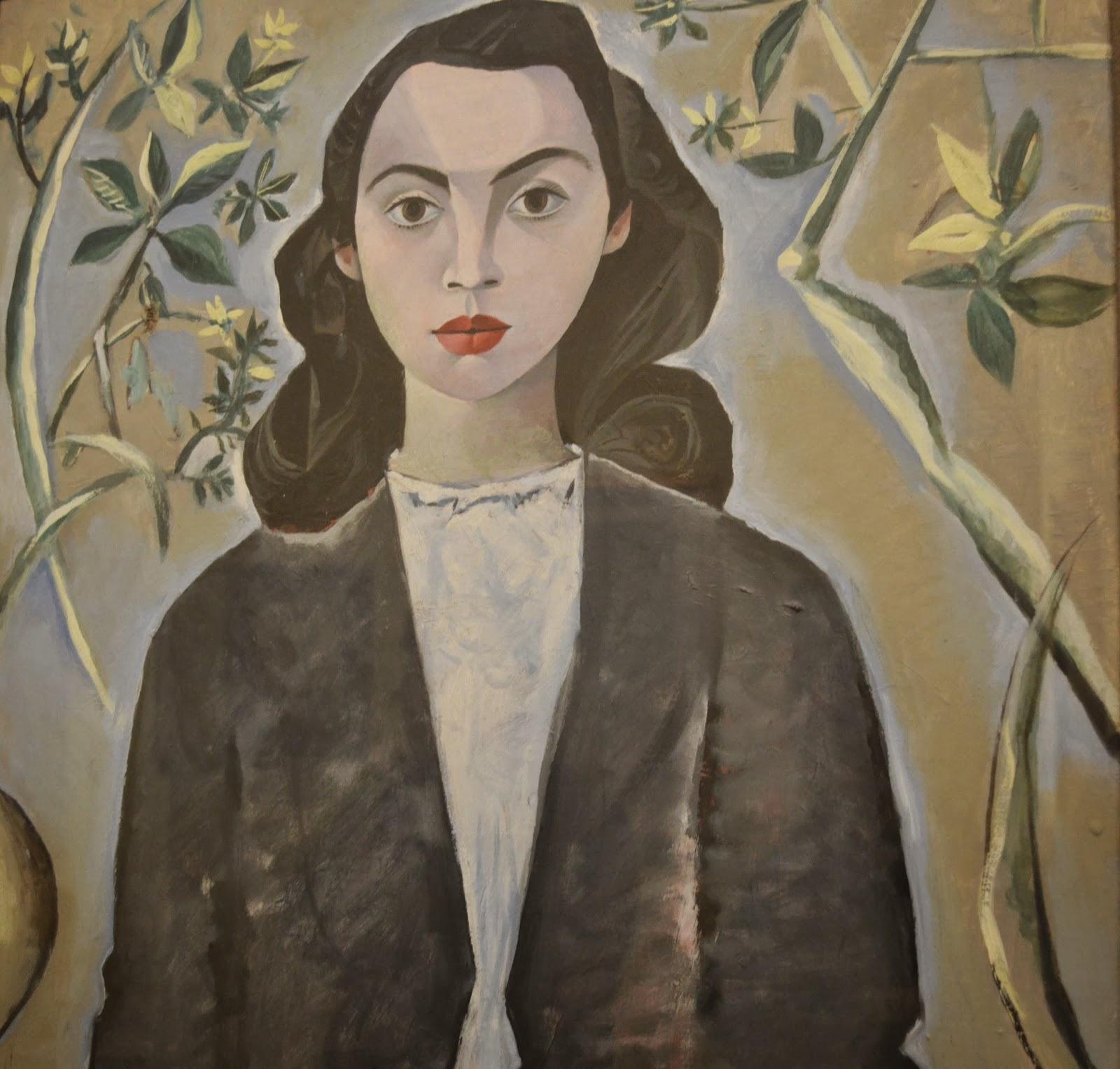 John Craxton, neo-Romantic, painting, art, Fitzwilliam museum, Cambridge, portrait , visit