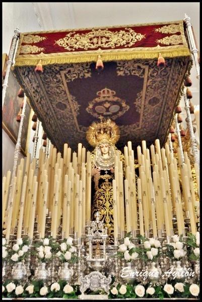Palio de los Servitas Semana Santa Sevilla 2013