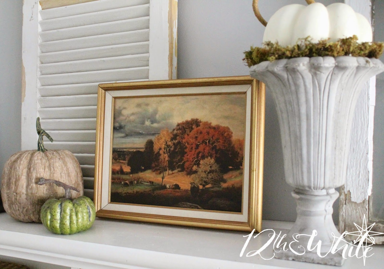 12th and White: Our Fall Hearth Room