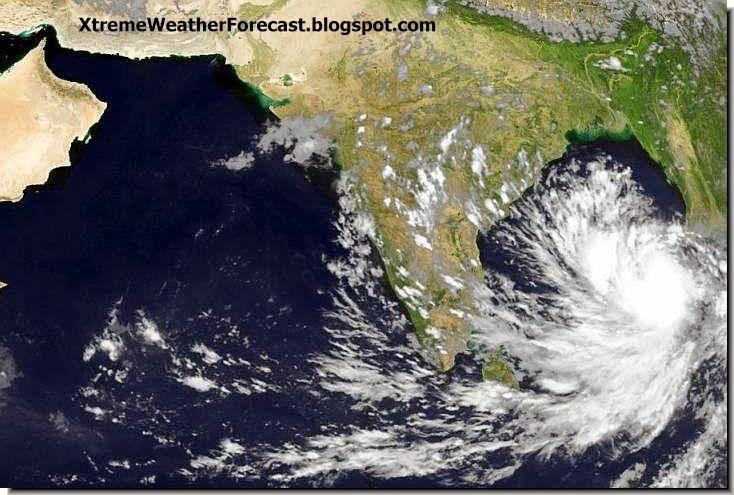 latest cyclone hudhud update target visakhapatnam sunday