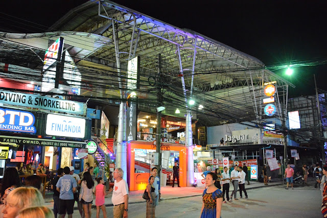 Bangla Road Patong shopping