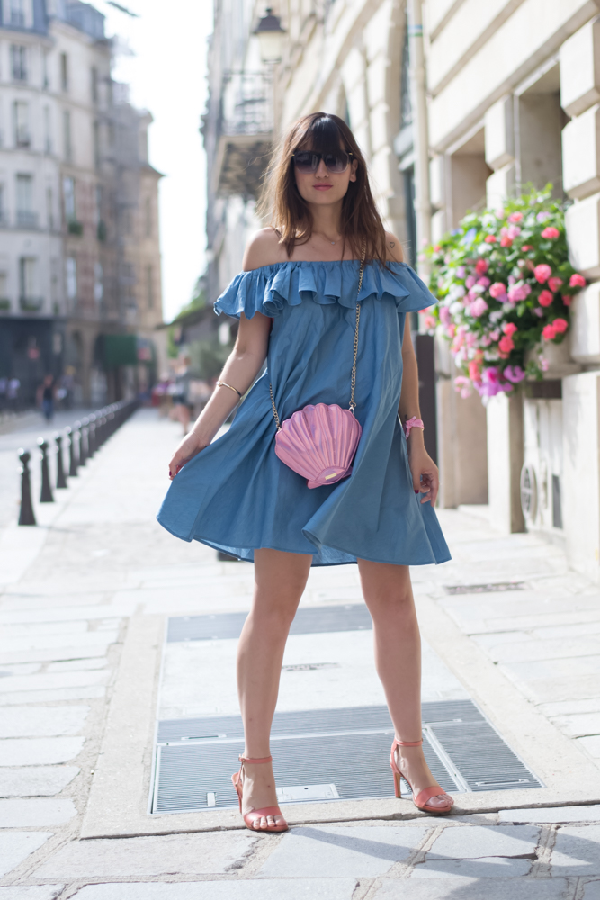 Paris, blogger, Summer style, blogger, Look, Streetstyle