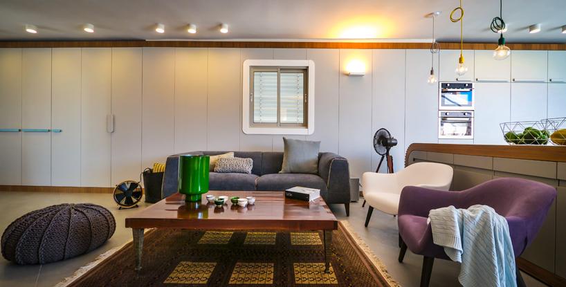 Living room designed by Hila Hollander