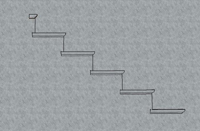 faire une rampe en fer forg et bois 1ere partie. Black Bedroom Furniture Sets. Home Design Ideas