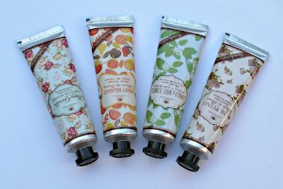las nuevas cremas de manos perfumadas
