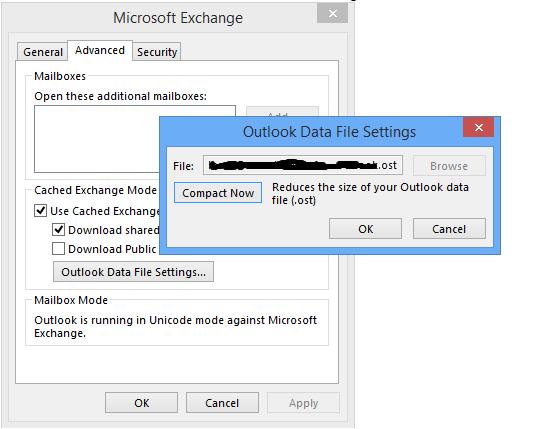 exchange setting