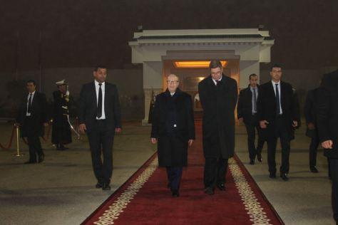 Béji Caïed Essebsi en Arabie Saoudite