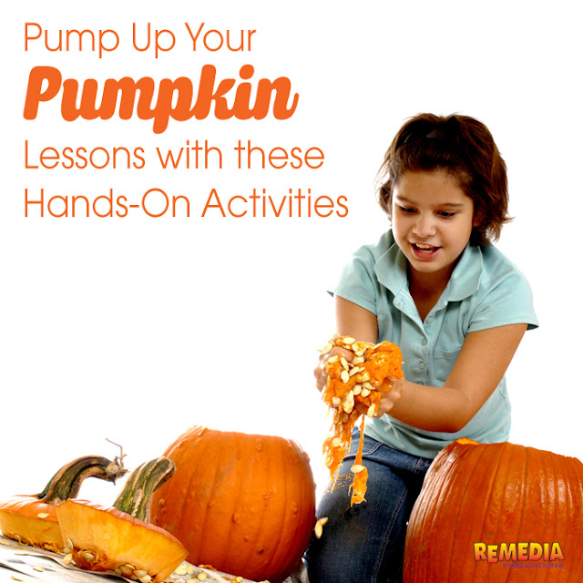 Pump Up Your Pumpkin Lessons this October | Remedia Publications
