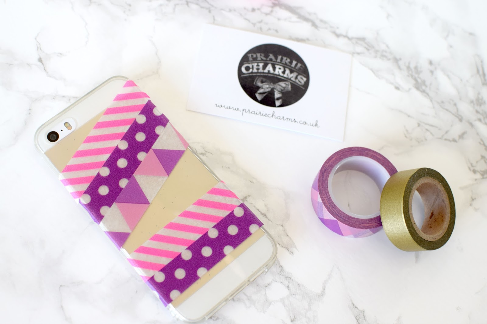 3 Ways to Washi with Prairie Charms