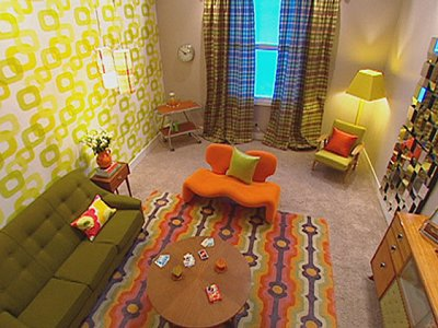 Decorating theme bedrooms maries manor retro mod style for 70s bedroom ideas