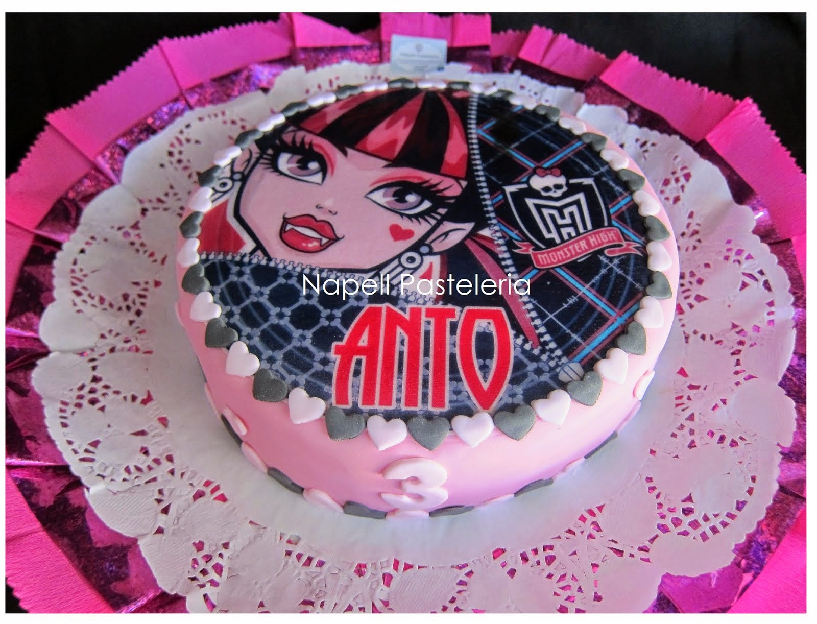 Foto torta Monster High
