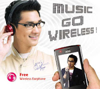 Mito 720 Music Go Wireless HP Dual Sim Card GSM Murah