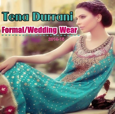 Tena Durrani Formal Dresses 2014