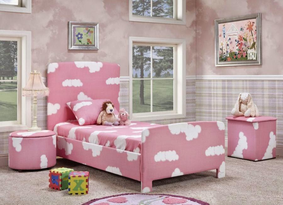 Model Tempat Tidur Minimalis Anak Perempuan 2014