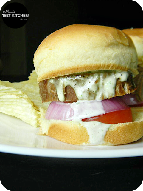 Pork Tenderloin Sliders with Orange Aioli