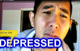 depressed image man