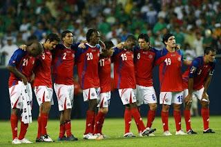 Convocados Costa Rica Copa América 2011