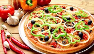 pizza sehat dan bergizi