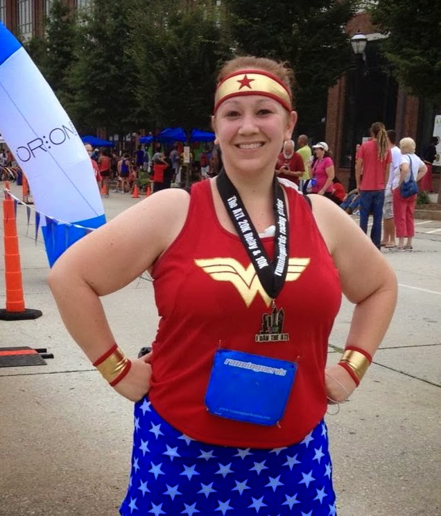 Cosplayground running costumes ill be wearing wonder woman again in january for the tinker bell 10k in disneyland if i get the chance i may look for some sparkle fabric and make myself solutioingenieria Gallery