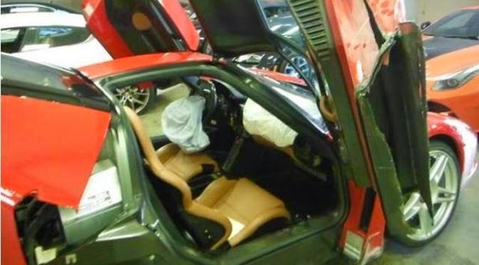 Kecelakaan Ferrari