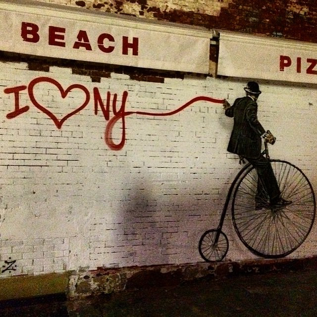 Our friend Nick Walker is back on the streets of New York City with this brand new piece which was just completed last night.