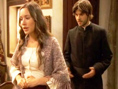 Gonzalo e Aurora insieme Il segreto