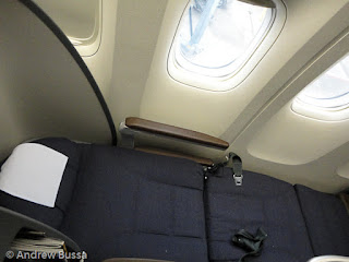 New United Airlines 777 Business Class Flat Bed Seat