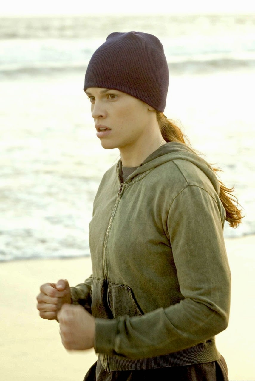 million dollar baby hilary swank