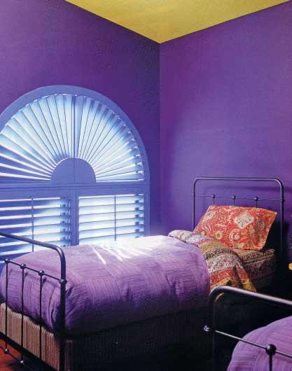 Trend Home Interior Design 2011 Bedroom Purple Furniture Interior