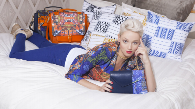African print inspired handbags by mefie