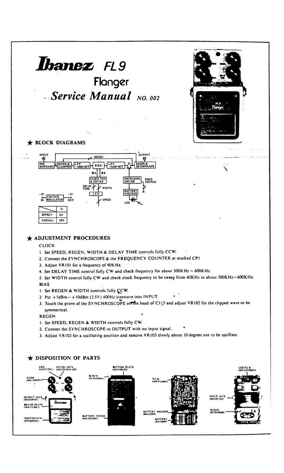 the awesome power of rockets repairs ibanez fl9 flanger rh theawesomepowerofrockets blogspot com ibanez gsr 200 owners manual ibanez instruction manual на русском