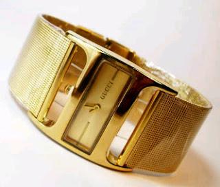 jam tangan gucci pasir gold