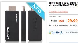 Tronsmart T1000 Mirror2TV HDMI Media Streamer
