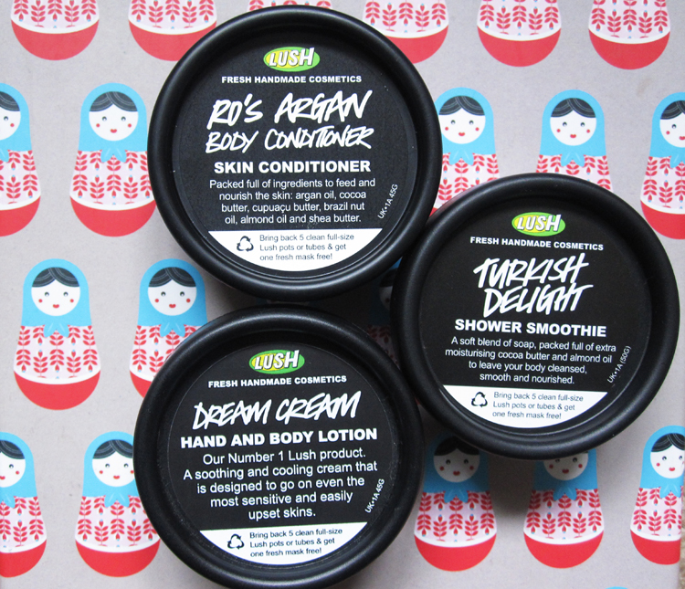 A picture of 3 Cold Weather Skin Saviours from LUSH