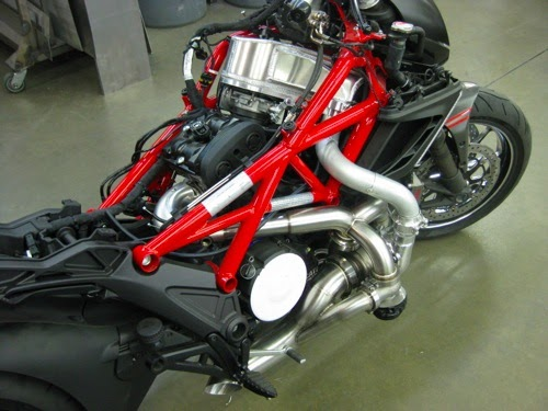 Ducati Monster Turbo