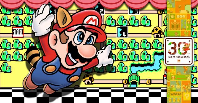 GAMES: Super Mario 30 Anos: Geração Super Mario Bros 3 SuperMarioBros3