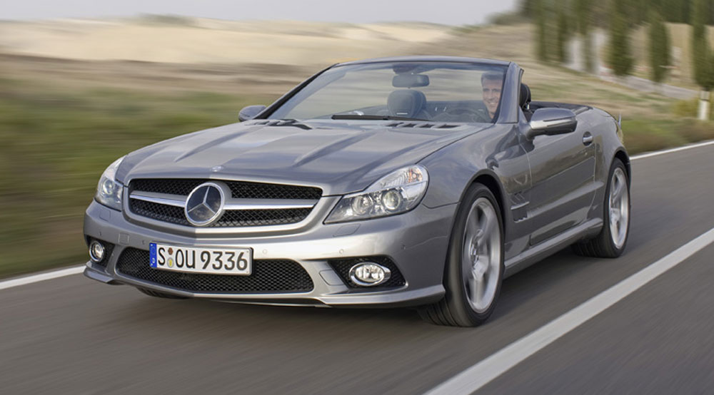 mercedes sl350 and mercedes gl500 launch on may 3 car. Black Bedroom Furniture Sets. Home Design Ideas