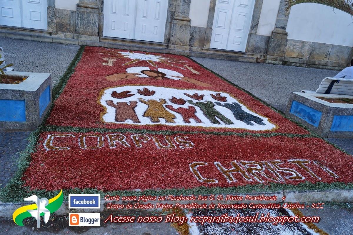 Corpus Christi 2014: a volta dos tradicionais Tapetes