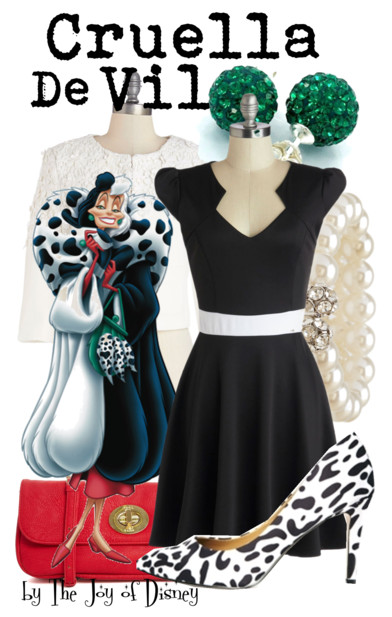Cruella De Vil Outfit, Disney Fashion