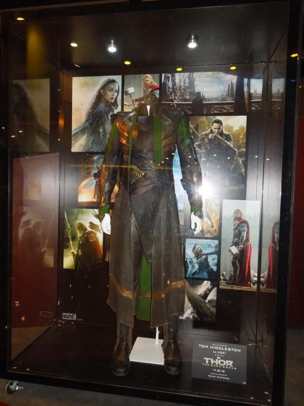 Thor Dark World Loki film costume