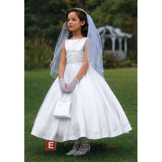 Flower Girl Dresses With Sleeves 108