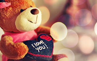 free hd images of i love you teddybear for laptop