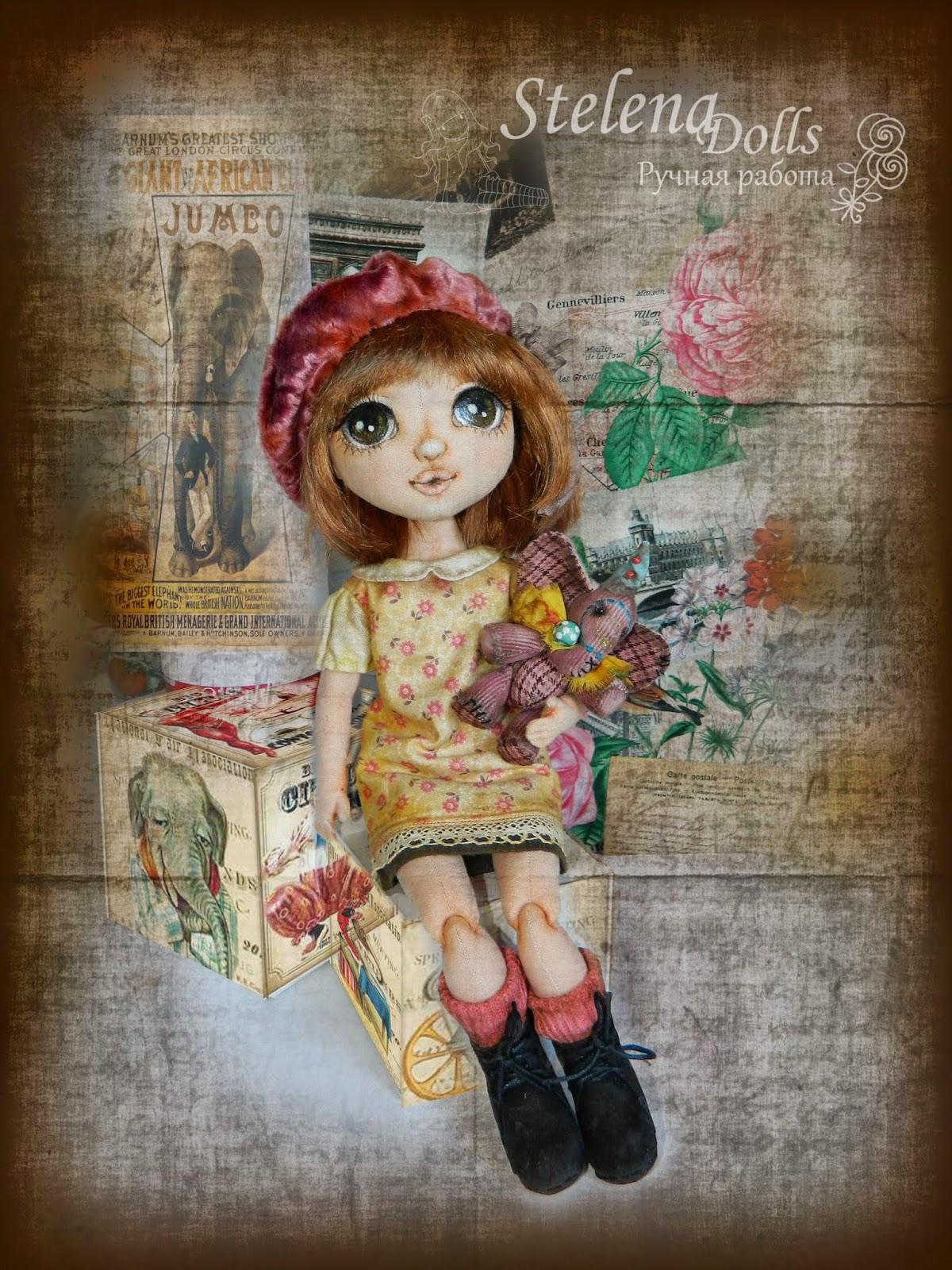 StelenaDolls_Zelie_текстильная кукла