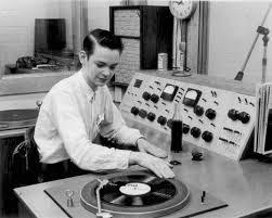 Me on my first radio job!