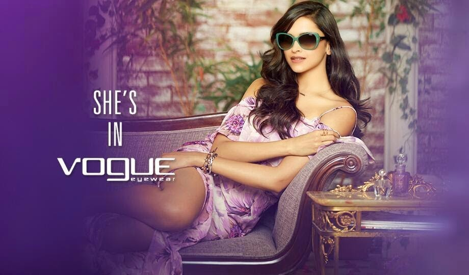 Deepika-Padukone-in-sexy-purple-gown-in-vogue-eyewear