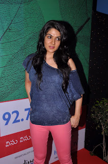 Actress Sakhi Chowdary Pictures in Tight Jeans at Green Ganesh 0007.jpg