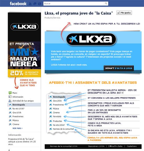 LKXA a Facebook
