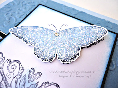 Butterfly detail Strength & Hope stamp set by Stampin' Up!